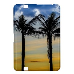 Palm Trees Against Sunset Sky Kindle Fire Hd 8 9  by dflcprints