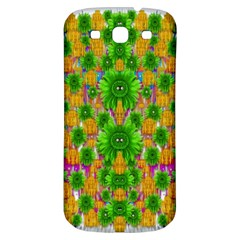 Jungle Love In Fantasy Landscape Of Freedom Peace Samsung Galaxy S3 S Iii Classic Hardshell Back Case by pepitasart