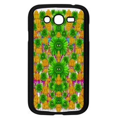 Jungle Love In Fantasy Landscape Of Freedom Peace Samsung Galaxy Grand Duos I9082 Case (black) by pepitasart