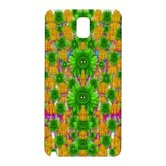 Jungle Love In Fantasy Landscape Of Freedom Peace Samsung Galaxy Note 3 N9005 Hardshell Back Case by pepitasart