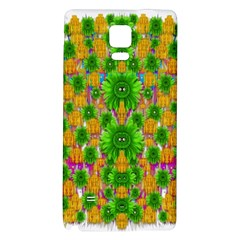 Jungle Love In Fantasy Landscape Of Freedom Peace Galaxy Note 4 Back Case by pepitasart