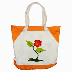 Plant And Flower Accent Tote Bag by linceazul