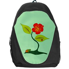 Plant And Flower Backpack Bag by linceazul