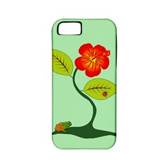 Plant And Flower Apple Iphone 5 Classic Hardshell Case (pc+silicone)