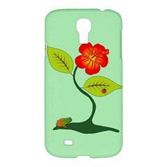Plant And Flower Samsung Galaxy S4 I9500/i9505 Hardshell Case by linceazul