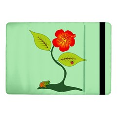 Plant And Flower Samsung Galaxy Tab Pro 10 1  Flip Case by linceazul