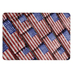 Usa Flag Grunge Pattern Samsung Galaxy Tab 8 9  P7300 Flip Case by dflcprints