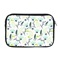 Hand Drawm Seamless Floral Pattern Apple Macbook Pro 17  Zipper Case by TastefulDesigns