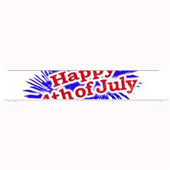 Happy 4th Of July Graphic Logo Small Bar Mats by dflcprints