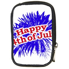 Happy 4th Of July Graphic Logo Compact Camera Cases by dflcprints