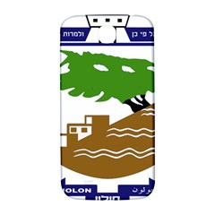 Coat Of Arms Of Holon  Samsung Galaxy S4 I9500/i9505  Hardshell Back Case by abbeyz71