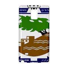 Coat Of Arms Of Holon  Samsung Galaxy Note 4 Hardshell Case by abbeyz71