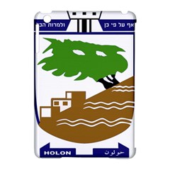 Coat Of Arms Of Holon  Apple Ipad Mini Hardshell Case (compatible With Smart Cover) by abbeyz71