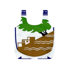 Coat Of Arms Of Holon  Full Print Recycle Bags (s)  by abbeyz71