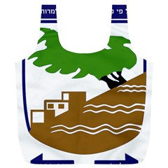 Coat Of Arms Of Holon  Full Print Recycle Bags (l)  by abbeyz71