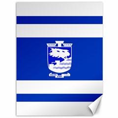 Flag Of Holon  Canvas 36  X 48   by abbeyz71