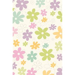 Beautiful spring flowers background 5.5  x 8.5  Notebooks by TastefulDesigns