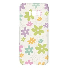 Beautiful Spring Flowers Background Samsung Galaxy S8 Plus Hardshell Case