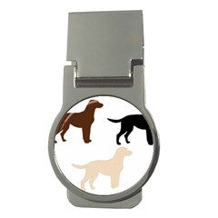 Lab Silos Money Clips (Round)  by TailWags