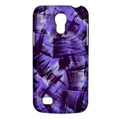 Purple Paint Strokes Galaxy S4 Mini by KirstenStar