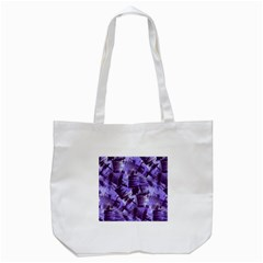 Purple Paint Strokes Tote Bag (white) by KirstenStar