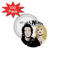 Sid And Nancy 1 75  Buttons (100 Pack)  by Valentinaart