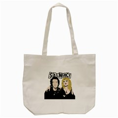 Sid And Nancy Tote Bag (cream) by Valentinaart