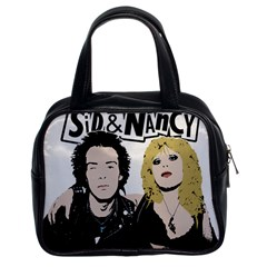 Sid And Nancy Classic Handbags (2 Sides) by Valentinaart