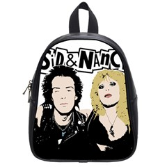 Sid And Nancy School Bags (small)  by Valentinaart