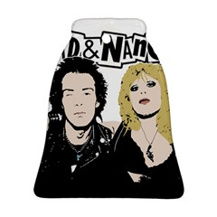 Sid And Nancy Bell Ornament (two Sides) by Valentinaart