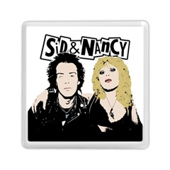Sid And Nancy Memory Card Reader (square)  by Valentinaart