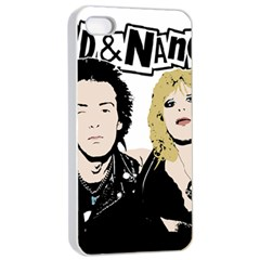 Sid And Nancy Apple Iphone 4/4s Seamless Case (white) by Valentinaart