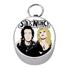 Sid And Nancy Mini Silver Compasses by Valentinaart