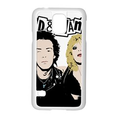 Sid And Nancy Samsung Galaxy S5 Case (white) by Valentinaart