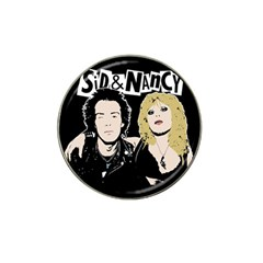 Sid And Nancy Hat Clip Ball Marker by Valentinaart