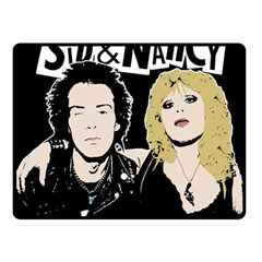 Sid And Nancy Fleece Blanket (small) by Valentinaart
