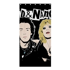 Sid And Nancy Shower Curtain 36  X 72  (stall)  by Valentinaart