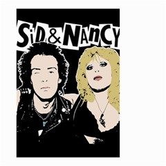 Sid And Nancy Small Garden Flag (two Sides) by Valentinaart