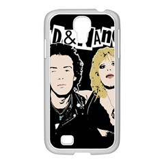 Sid And Nancy Samsung Galaxy S4 I9500/ I9505 Case (white) by Valentinaart