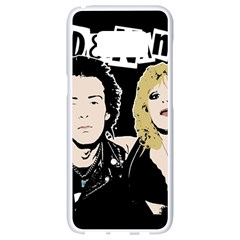 Sid And Nancy Samsung Galaxy S8 White Seamless Case by Valentinaart
