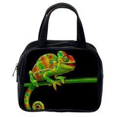 Chameleons Classic Handbags (one Side) by Valentinaart