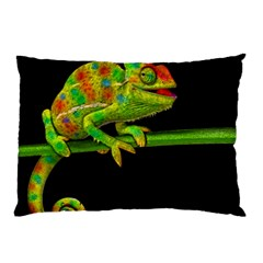 Chameleons Pillow Case (two Sides) by Valentinaart