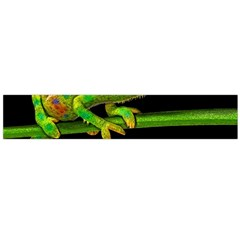 Chameleons Flano Scarf (large) by Valentinaart