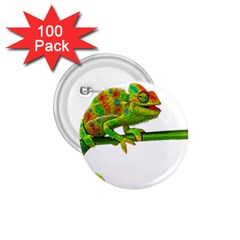 Chameleons 1 75  Buttons (100 Pack)  by Valentinaart