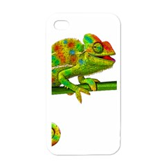 Chameleons Apple Iphone 4 Case (white) by Valentinaart