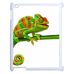 Chameleons Apple Ipad 2 Case (white) by Valentinaart