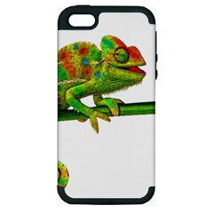 Chameleons Apple Iphone 5 Hardshell Case (pc+silicone)