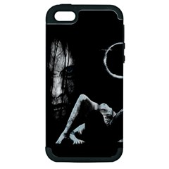 The Ring Apple Iphone 5 Hardshell Case (pc+silicone)