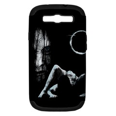 The Ring Samsung Galaxy S Iii Hardshell Case (pc+silicone) by Valentinaart