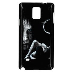 The Ring Samsung Galaxy Note 4 Case (black) by Valentinaart
